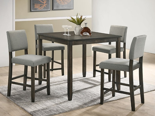 Derick 5-PC Counter Height Dining Table