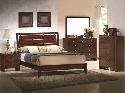 Evan Brown Bedroom Suite