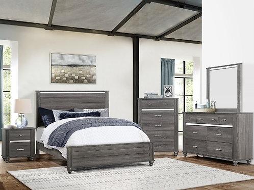 Gatson Grey Bedroom Suite