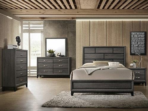 Akerson Grey Bedroom Suite