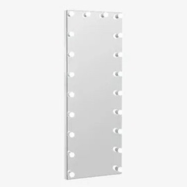 Hollywood LED w/ Bluetooth Speakers Wall Mirror