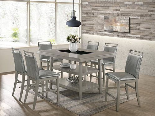 Tommy Silver Dining Room Set