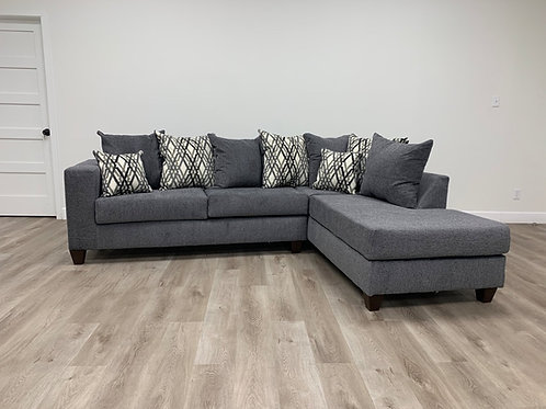 Steel Grey Sectional