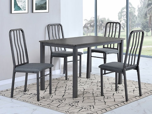 Rezno 5 Piece Dining Table Set