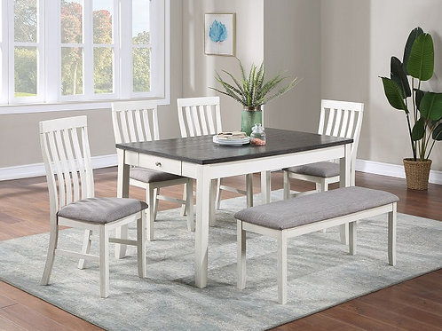 Nina Table & Chair Set with Bench
