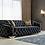 Thumbnail: Lupino Black Velvet 2-PC Sofa and Loveseat