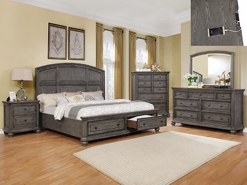 LAVONIA STORAGE BED