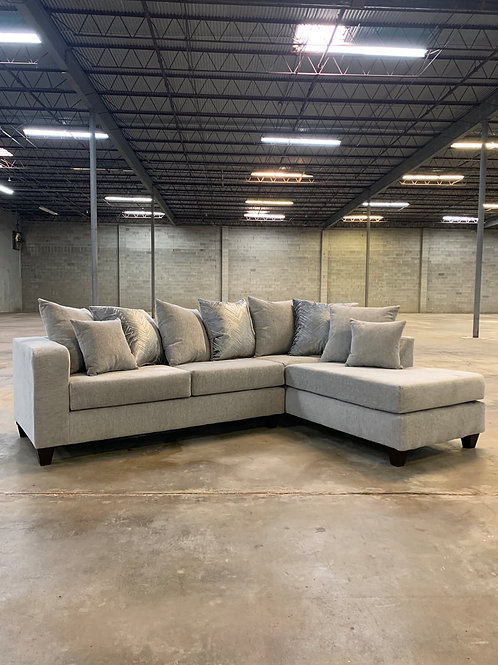 Dove Grey Sectional