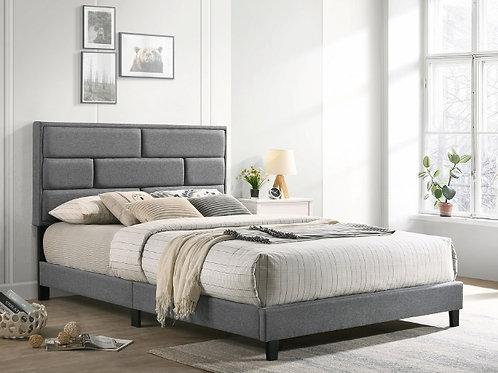 Flannery Grey Platform Bed