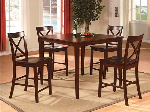 Theodore 5 Piece Counter Height Dining Table Set