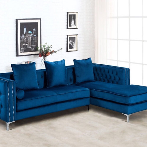 Ava Blue Sectional