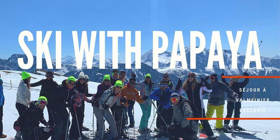 Ski With Papaya