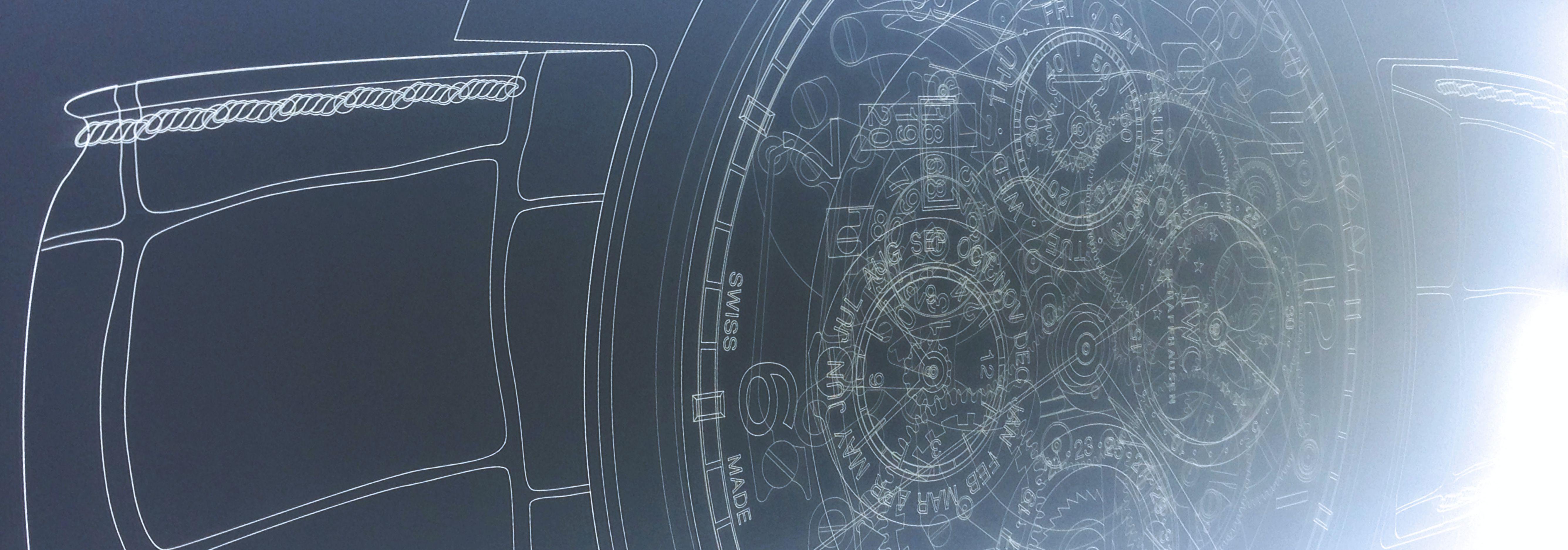 Detalhe gravação laser em acrílico