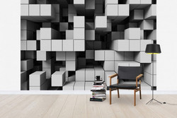 Decoração de parede com imagem