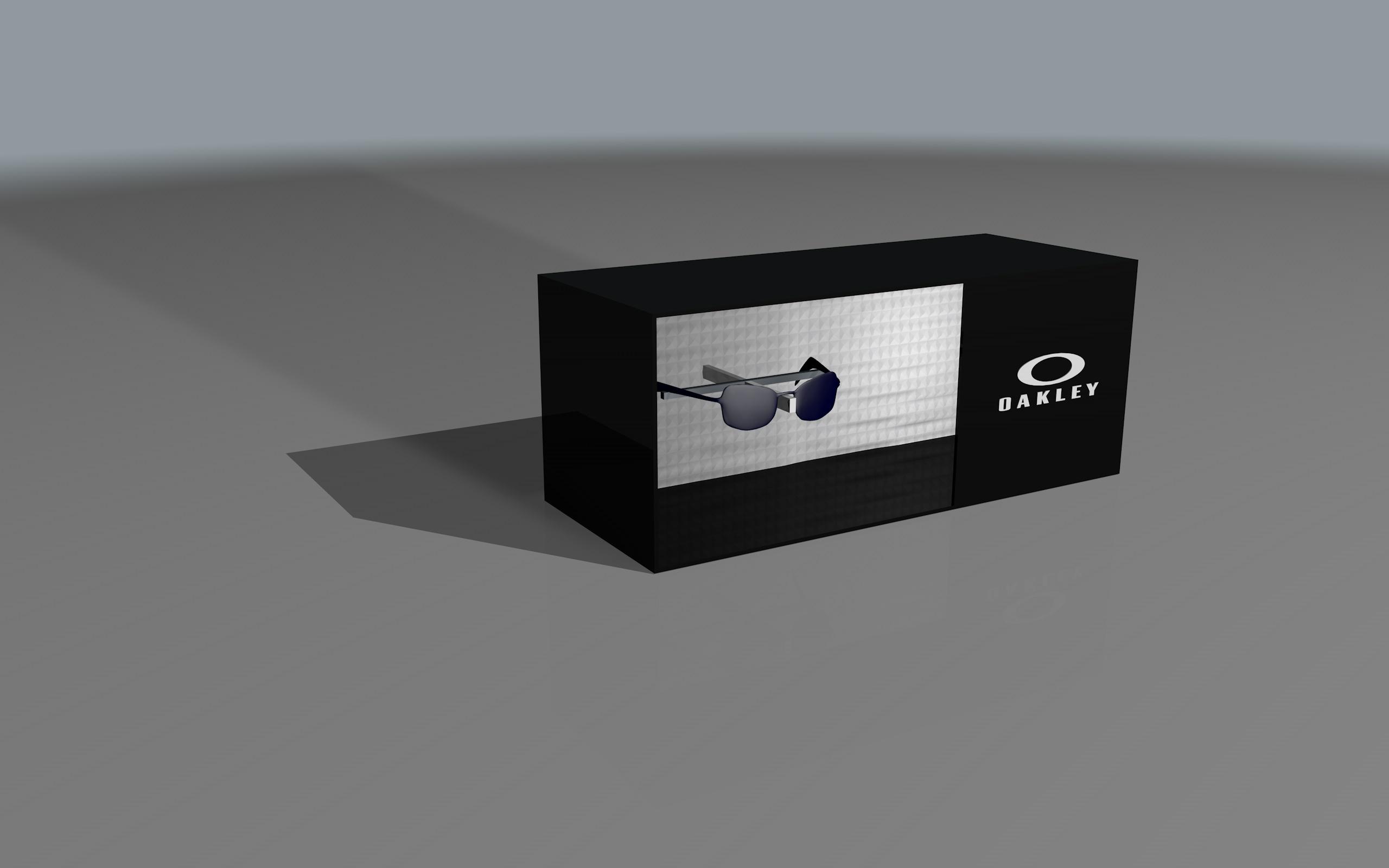 Expositor iluminado Oakley