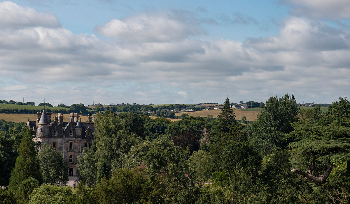 View atop Blarney Castle, July 2018