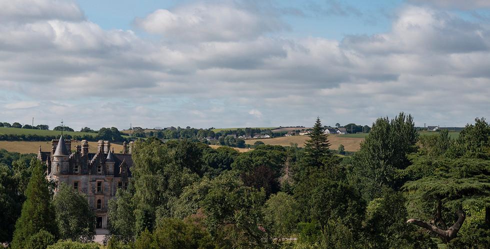 View atop Blarney Castle, July 2018