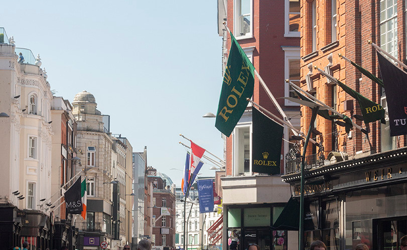 Grafton Street, Dublin, July 2018