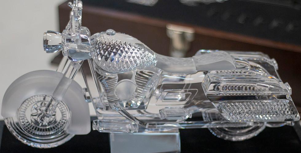 Waterford Crystal Motorcycle, July 2018