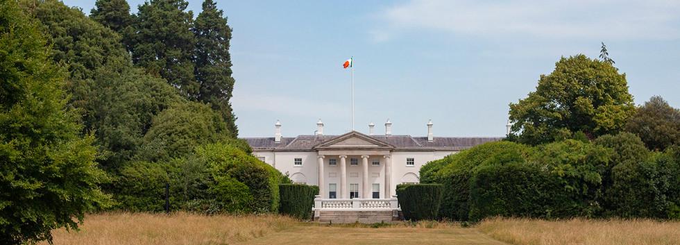 President of Ireland's House, Dublin, July 2018