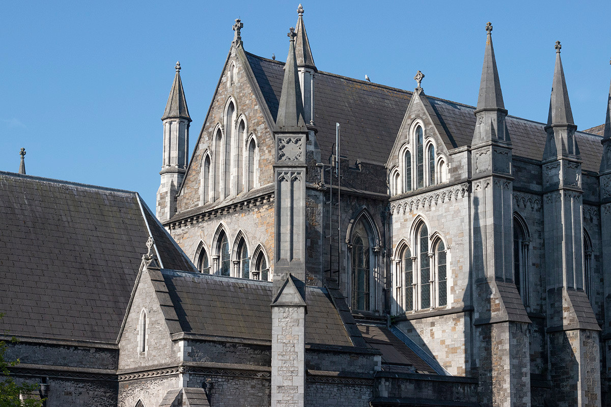St. Patrick's Cathedral, Dublin, July 2018