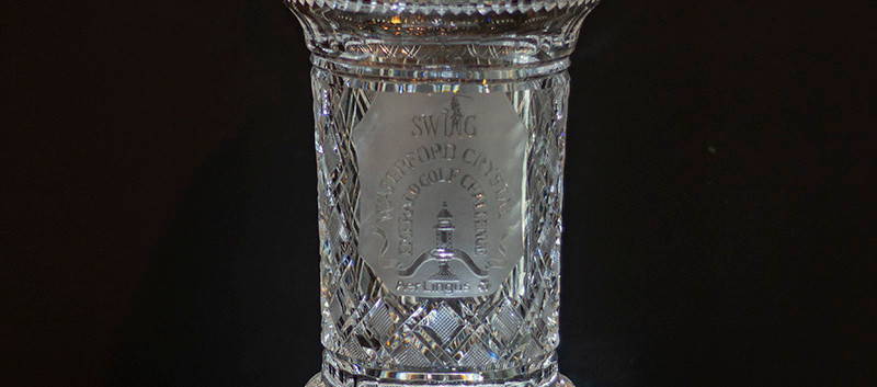 Waterford Crystal Gold Trophy, July 2018