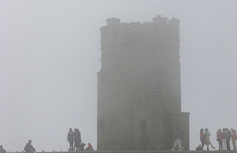 O'Brien's Tower, Cliffs of Moher, July 2018