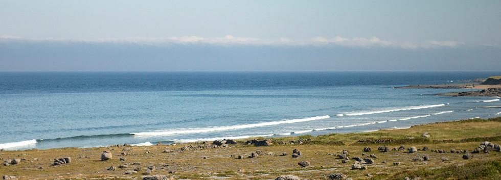 View of the Atlantic Ocean, July 2018