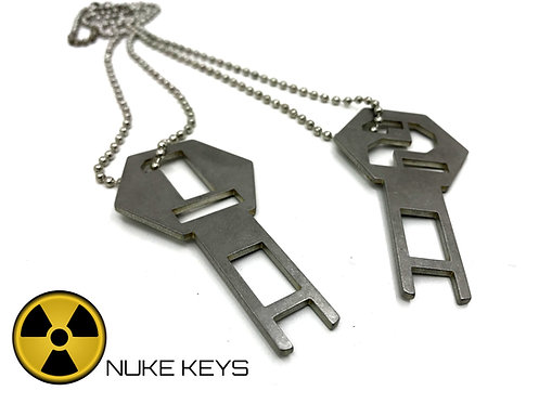 Epilog M2 Fusion Co2 and Fusion Pro Laser Door Interlock Bypass Keys Set Of Two