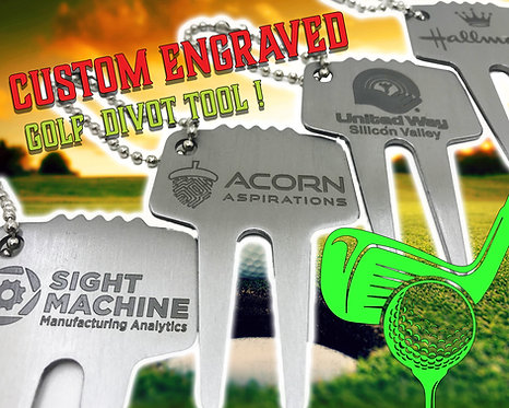 Divot Tool Engraved