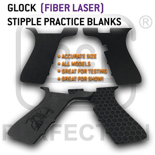Laser Stippling Glock Model Practice Blanks For Fiber Lasers