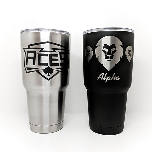 Single 32oz Vacuum Insulated Tumbler Engraved