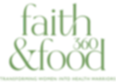 Faith & Food 360 Main Logo (kale green).