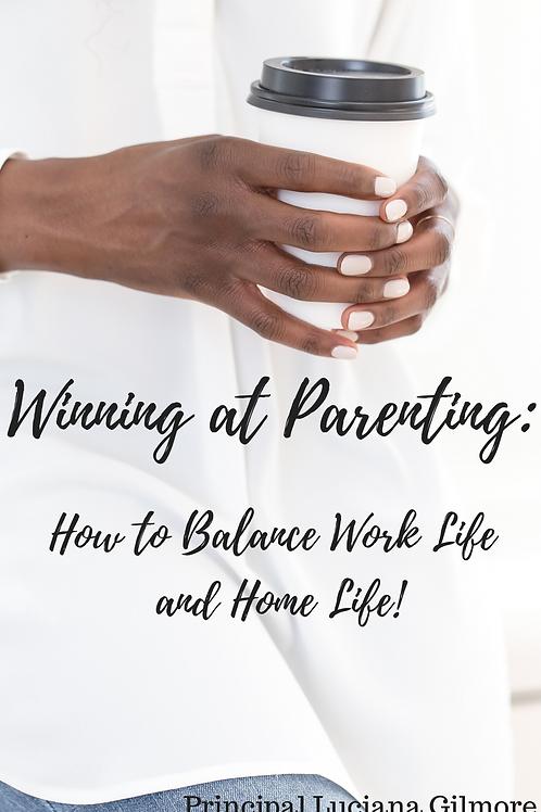 E-book Winning At Parenting!
