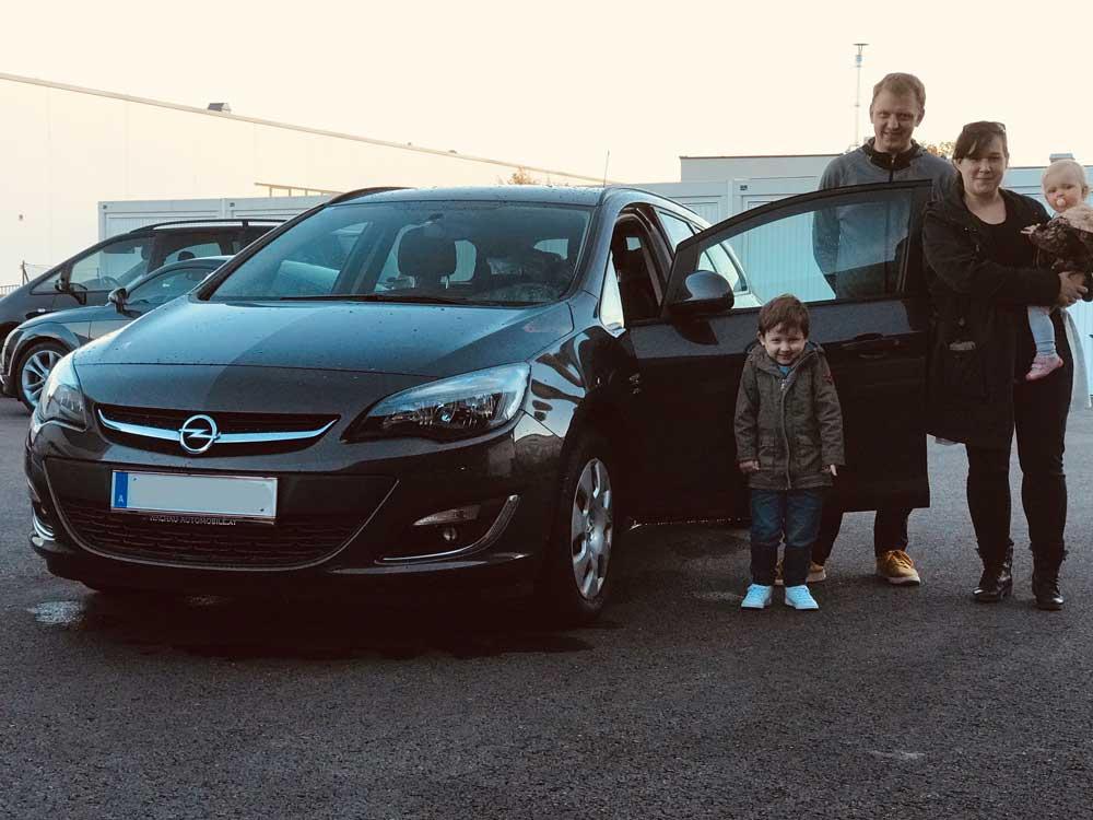 Opel Astra 11 2018