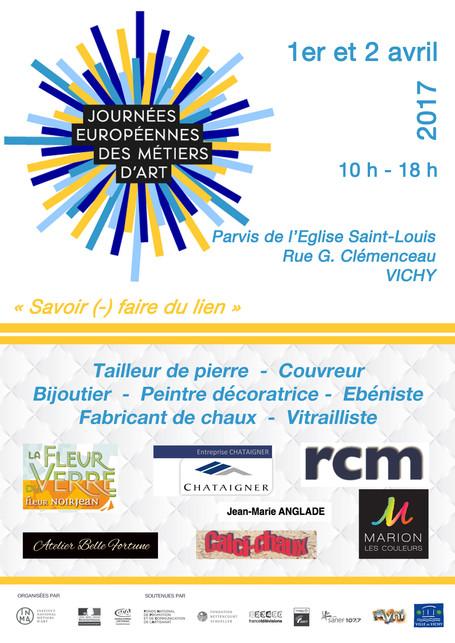 Journées Européennes des Métiers d'Art AVRIL 2017 - Vichy