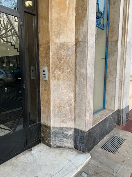 Les façades en placage pierre