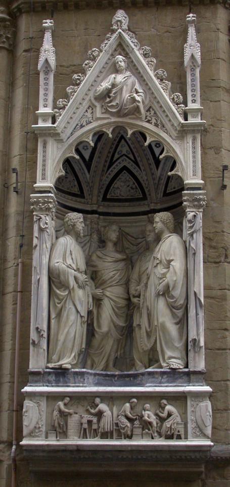 Les Quatre Couronnés, tailleurs de pierre