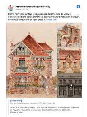 ARCHITECTURE DE VICHY