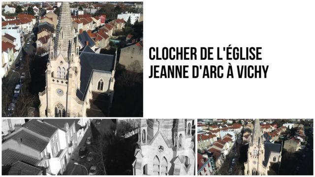 Clocher de l'Eglise Jeanne d'Arc de Vichy