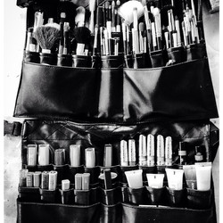 New MAC brush holder for the coming season! Needed to update my kit on this rainy day! #MA