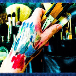MAC#make up brushes#artist#color#Lazy Sunday#cleaning kit#photography #Hairstyist #makeup