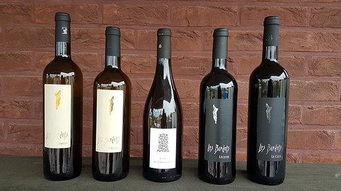 Proefpakket 5 flessen BIO wijnen