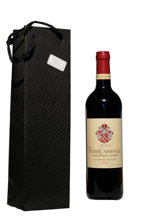 1 fles wijn in luxe geschenkverpakking (vanaf 8,00 EUR)