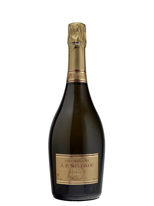 Champagne J.P. Secondé Brut Milésimé 2009 Mailly