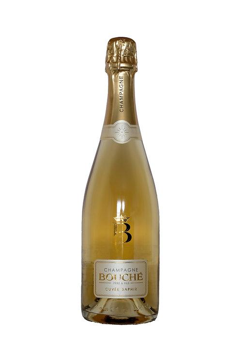 Champagne Bouché Père et Fils Cuvée Saphir 10 jaar rijping