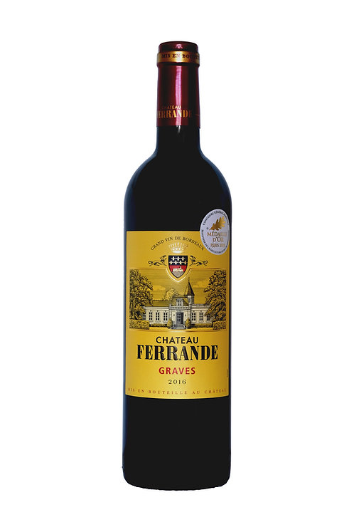 Chateau Ferrande Graves Rood 2016
