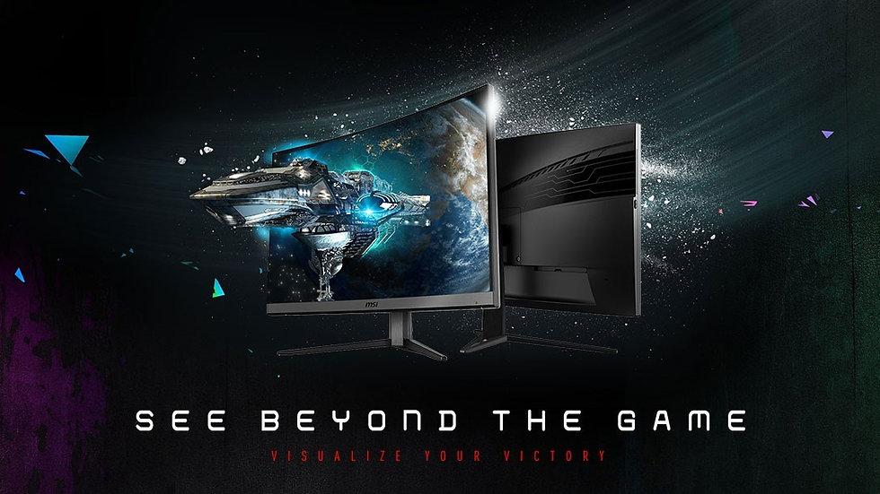"MSI Optix MAG272CRX 27"" 16:9 Full HD 240Hz FreeSync VA Curved LED Gaming Monitor"
