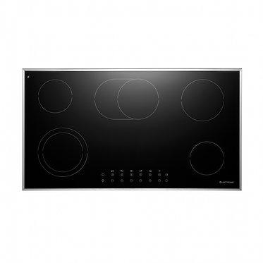 Cooktop Elettromec Vitrocerâmico 90cm inox 220v CKV-5Q-90-CV-2ZEA