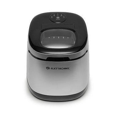 Ice Maker Elettromec portátil prata 220v IM-FS-12-PX-2AHA